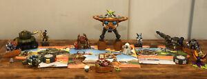 5 Skylanders Giants Mega Bloks Complete Sets Tree Rex Flameslinger Chill + More!