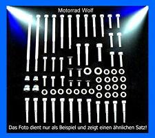Motorschraubensatz Suzuki VS 1400 Intruder V2A Edelstahl Schrauben Motor Set NEU