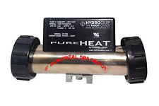 Hydroquip PURE HEAT bath heater in-line 1kw 120V with pressure switch & NEMAcord