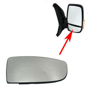 side view mirror convex for Ford transit 150 250 350  2015-19 RH Passengers