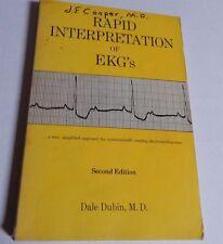 RAPID INTERPRETATION OF EKG'S SECOND EDITION 1970