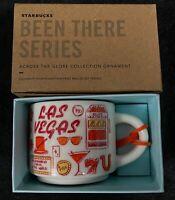 NEW Starbucks Been There Series LAS VEGAS Ornament 2 oz. Mug