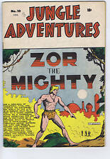 Jungle Adventures #10 ,Bell Features Pub ,Zor the Mighty, Canadian Edition