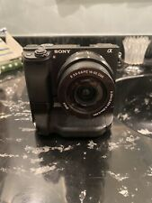 Sony Alpha A6300 24.2MP Mirrorless Digital Camera Kit W/ 16-50mm Lens And Grip