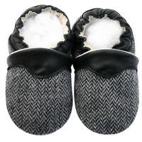Free Shipping Littleoneshoes Soft Sole Leather Baby Shoes Herringbone 12-18M