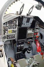 T-38C/T-38 Talon Trainer Flugzeug 12x18 Silber Halogen Fotodruck