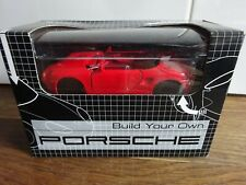 Worldwide co diecast  build your own porsche  pull back & go action
