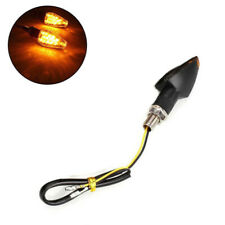 1Pc Motorcycle Motorbike Smoke 14 LED Turn Signal Amber Lights Lamp Indicators