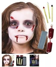 Halloween -Special Effects Makeup - Zombie Face Paint Complete Kit