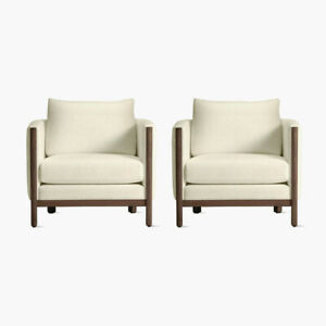 Authentic DWR Exclusive Emmy Armchair - Set of 2 | Design Within Reach
