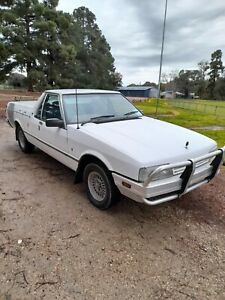 FORD XF UTE 1989 CURRENT ROADWORTHY Very Good Car 3 Seater