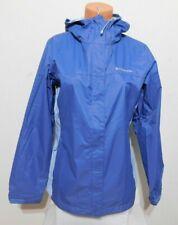 Columbia Woman's Rain Jacket Blue Eve Faded Sky Size MEDIUM New