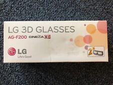 LG AG-F200 3D Glasses  LG Cinema 3D - 2 pairs For LG 3D LED HDTVs