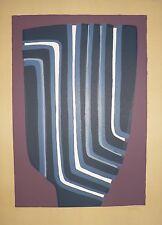 Lithographie Originale de Raoul UBAC .