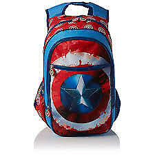Marvel Civil War Captain America Shield Midi Backpack
