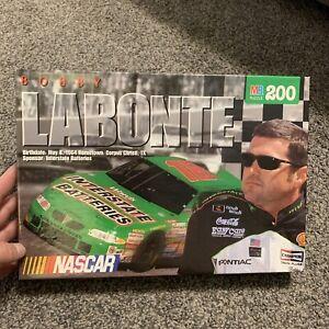 "Vintage 1998 200 Piece Puzzle Bobby Labonte #18 NASCAR 12.125""x16"" Brand New"