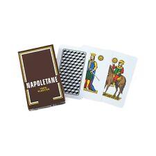 Mazzo 40 Carte Da Gioco Classiche Napoletane Plastificate moc