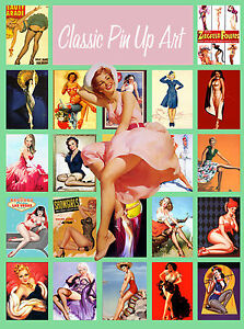 image disk art reference Vintage 5,000 Classic Pinup Art Images CD-rom