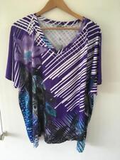 FREE POST  - Womens NWT BIB Rhinestone Tshirt Size XL