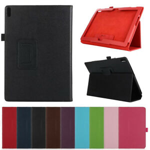 """PU Leather Stand Flip Fold Case Cover Universal For Lenovo Tab 2 3 4 7"""" 8"""" 10"""""""