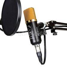 3.5mm USB Condenser Studio Sound Record Microphone Mic with Shock Mount Tripod