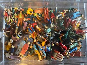 Ca. 60 Preiser Figuren H0 - Konvolut - Passt perfekt zu Faller Kirmes