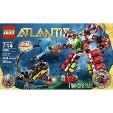 Lego Atlantis Undersea Explorer Retired Set 8080 New In Box Transorming Set