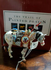 #1496 War Pony Trail of Painted Ponies Christmas Ornament Orig Ser RETIRED 2003