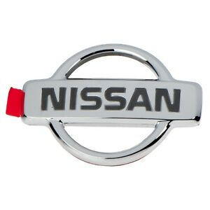 94-99 Nissan Altima Sentra 200SX Front/Rear Chrome Emblem OEM NEW 84889-4B000