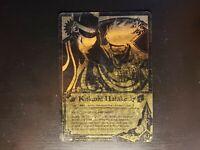 Naruto CCG - Kakashi Hatake [Detection Of The Movment] 473 Super Rare Gold NM