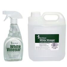 Bird Brand White Vinegar Spray 500ml PLUS 4 Litre Refill