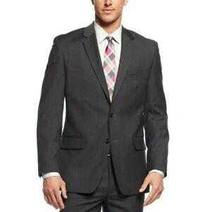 Solid Light Gray Macy/'s Alfani Slim Fit Mens Sport Suit Coat Jackets SIZES NWT!