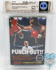 NES - MIKE TYSON'S PUNCH-OUT - REV-A - ROUND SOQ - FACTORY SEALED - WATA 8.5 A+