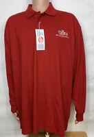 My HEB Texas Grocery Store Employee Uniform Long Sleeve Polo Work Shirt 2XL NWT
