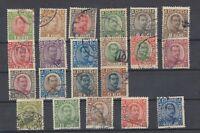 Iceland 1921 King Christian X Set Mi83/103 JK1863