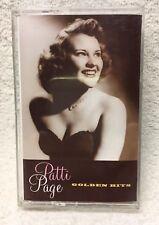 Patti Page Golden Hits Cassette Tape Mercury of Nashville