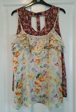 2 tops,New Look & River Island,summer/holiday,size 10.