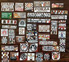 400 Sankt Pauli Aufkleber Sticker 40 Motive a 10 Stück Ultras Ultra Fc St.