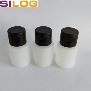Flasche, Liquid-Flasche, 30 ml, natur, inkl. Verschluss