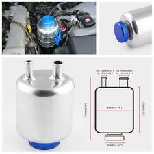 Car Truck Fuel Power Steering Tank Fluid Reservoir Racing Breather Oil Kettle