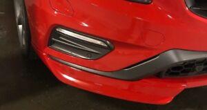 volvo s60 v60 R design polestar front spoiler bumper splitters winglets 2014-18