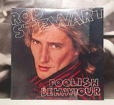 ROD STEWART - FOOLISH BEHAVIOUR LP + POSTER EX+/EX 1980 ITA N 56865