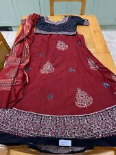Indian lehenga Choli Size  12-14