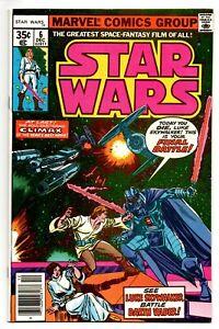 Star Wars #6 Marvel Comics 1977