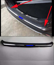 Rear Bumper Protector Sill Plate for 2016-2017 Mitsubishi Outlander ABS blue