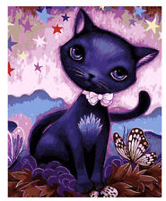 """Cat 16X20"""" Paint By Number Kit DIY Acrylic Painting on Canvas 1485"""