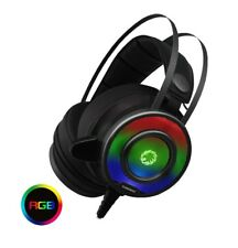 Game Max G200 7 Colour RGB LED Gaming Headset and Mic, USB and 3.5mm Jack