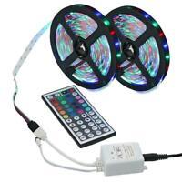 10M 3528 SMD RGB Flexible LED Light Strip 600LEDs + 44Key IR Remote Controller