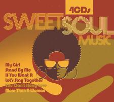 CD Sweet Soul musique d'Artistes Divers 4CDs