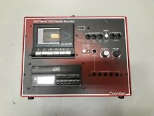 Coomber 2017-C Stereo CD/Cassette Recorder with Mic and Headphones Inputs